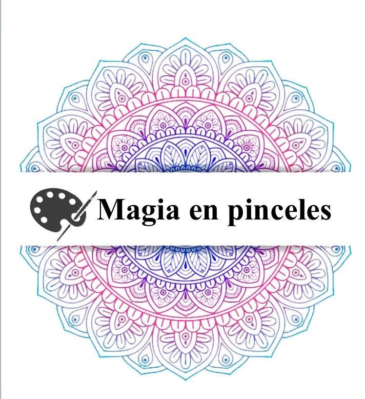 logo magia en pinceles